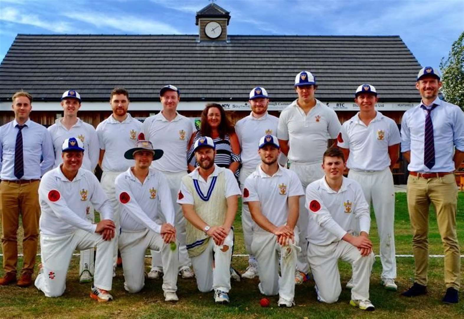 Old Leysians seal Cambs & Hunts Premier League, Division Three crown