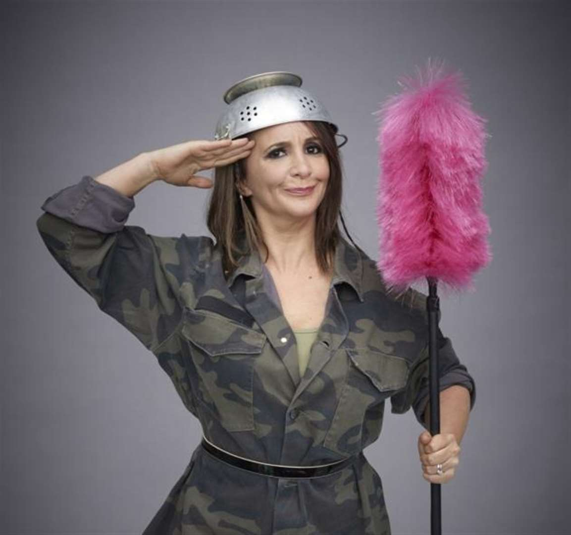Lucy Porter is bringing the battle to Cambridge Junction