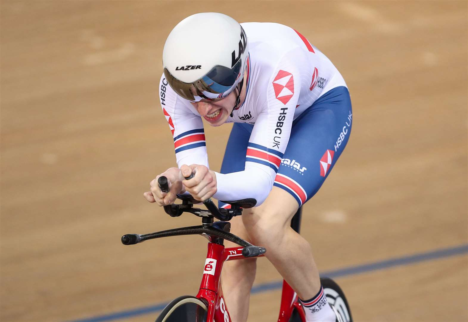 The sky's the limit for Louis Rolfe with hunger to reclaim UCI Para-cycling Track World Championships crown