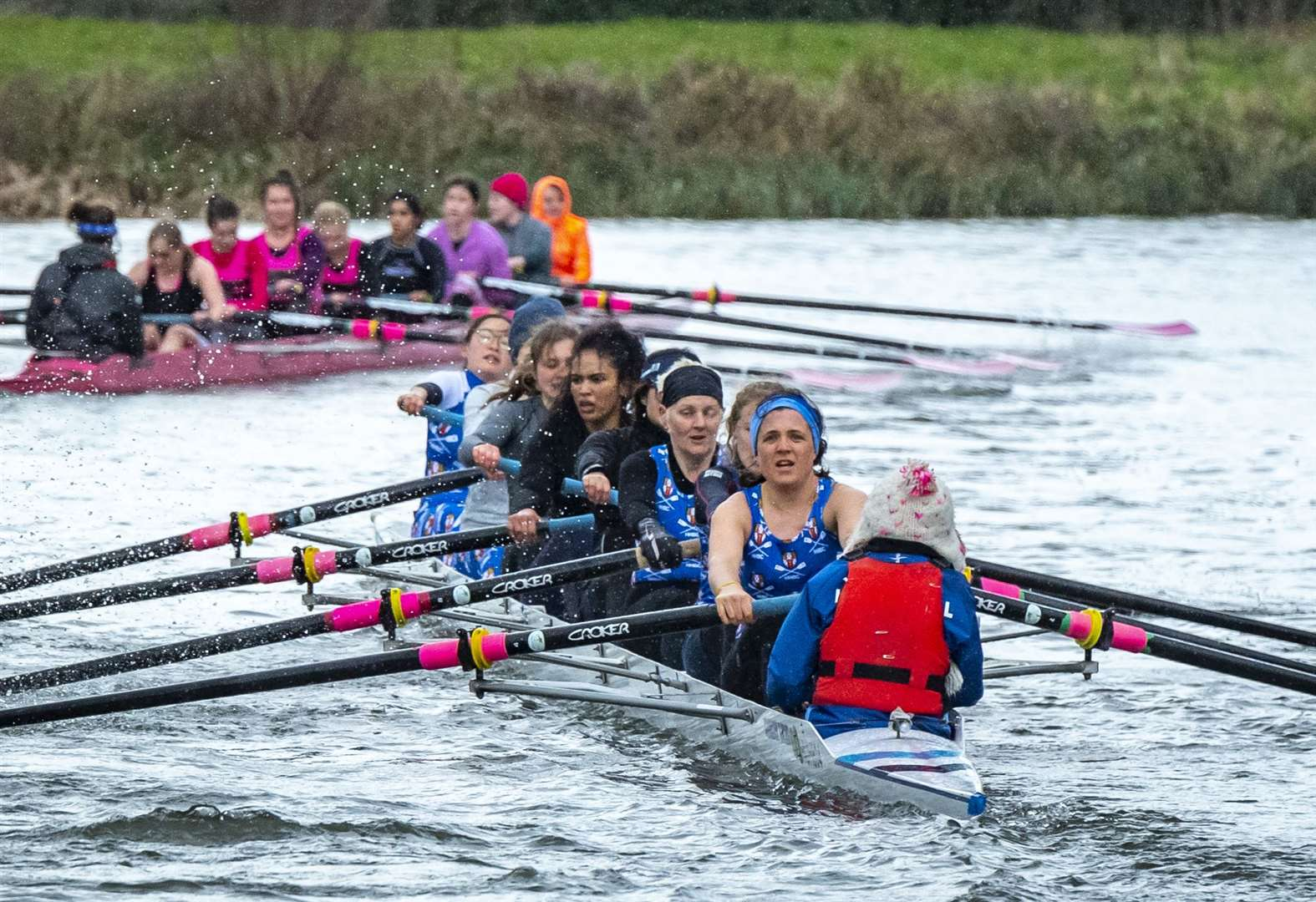 Newnham College end 36-year wait for Lent Bumps Headship