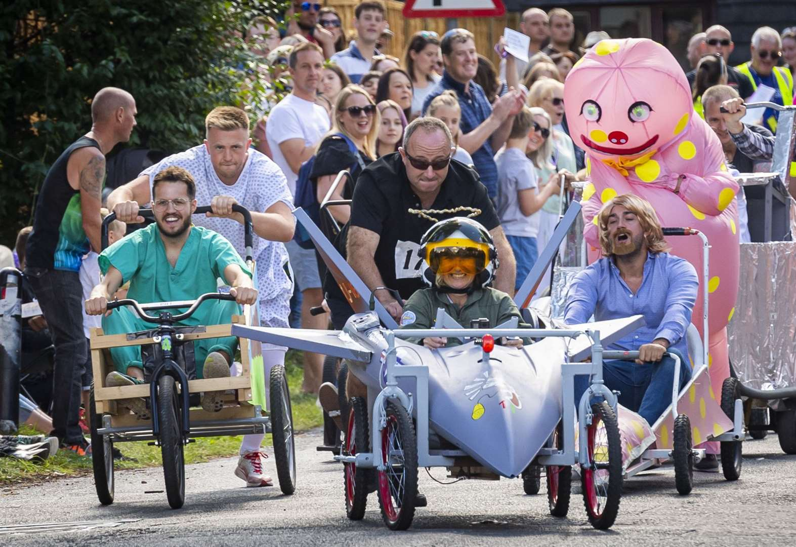 44 pictures from the brilliant 2019 Duxford Soapbox Derby