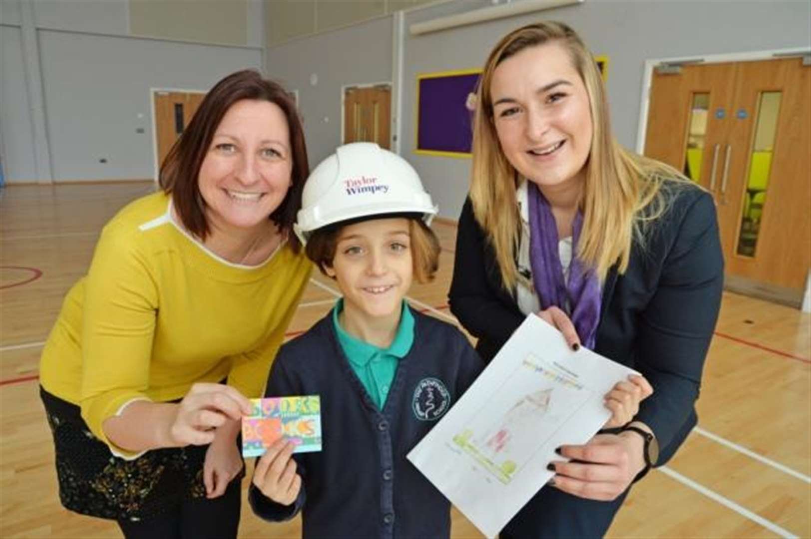 Cambridgeshire school girl wins design competition