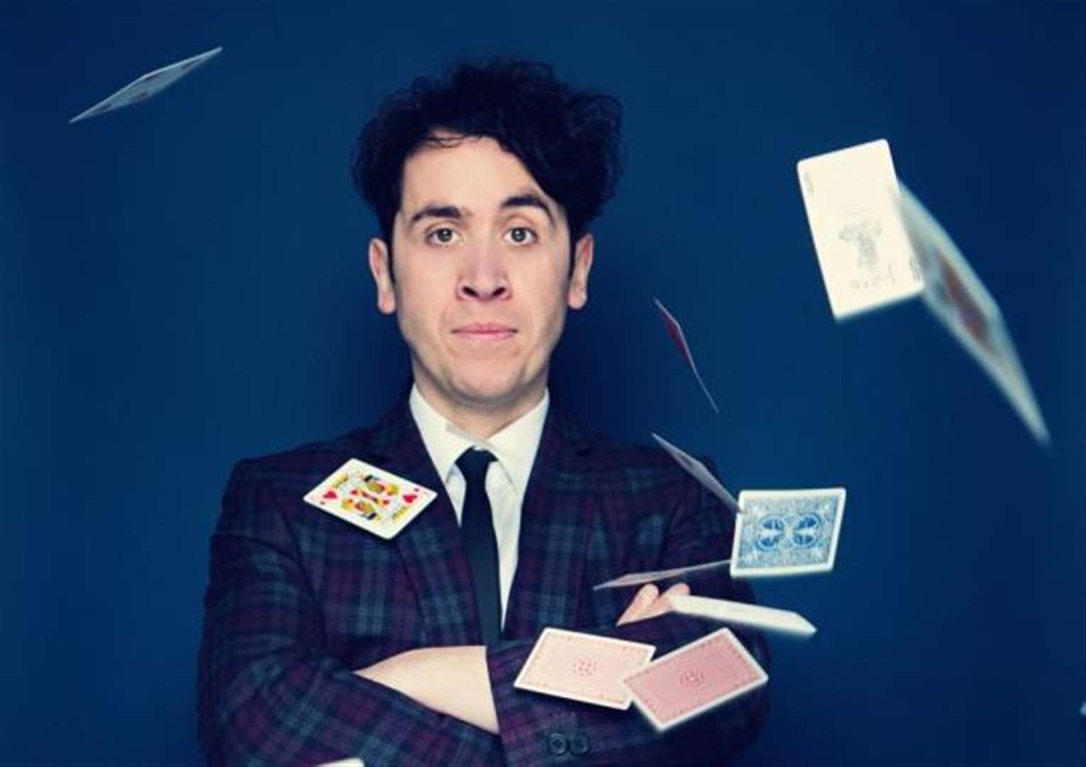 Prepare for Marvels as magician/comedian Pete Firman gets ready to hit Cambridge