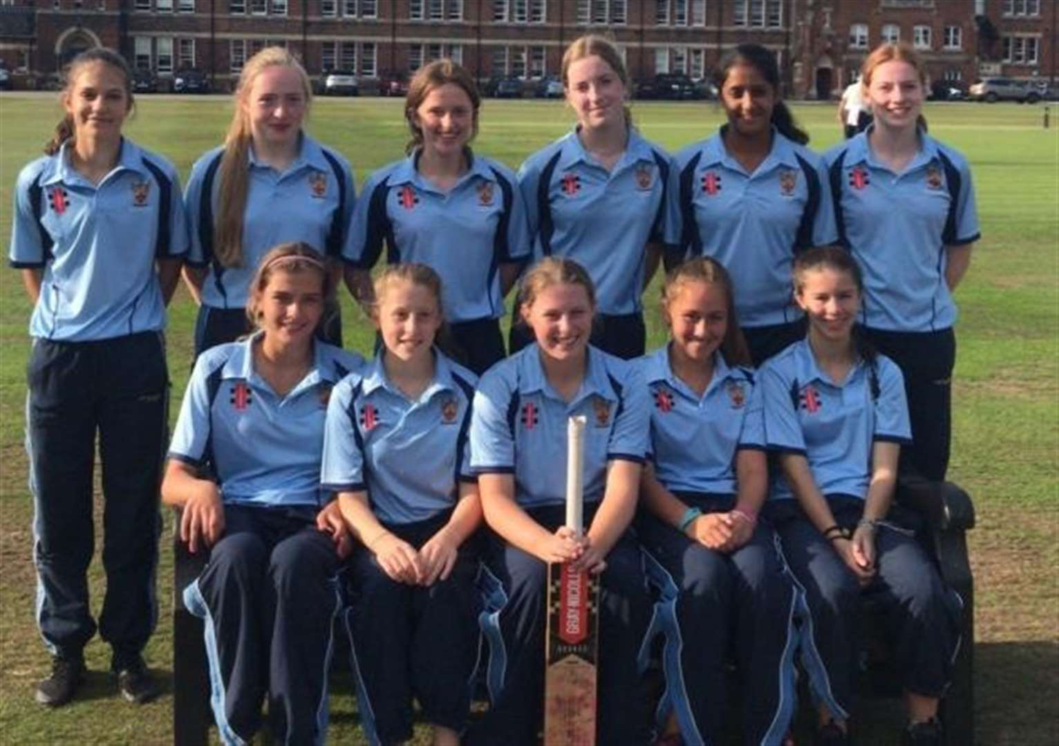 Girls' cricket team are pride of The Leys School after national finals achievements