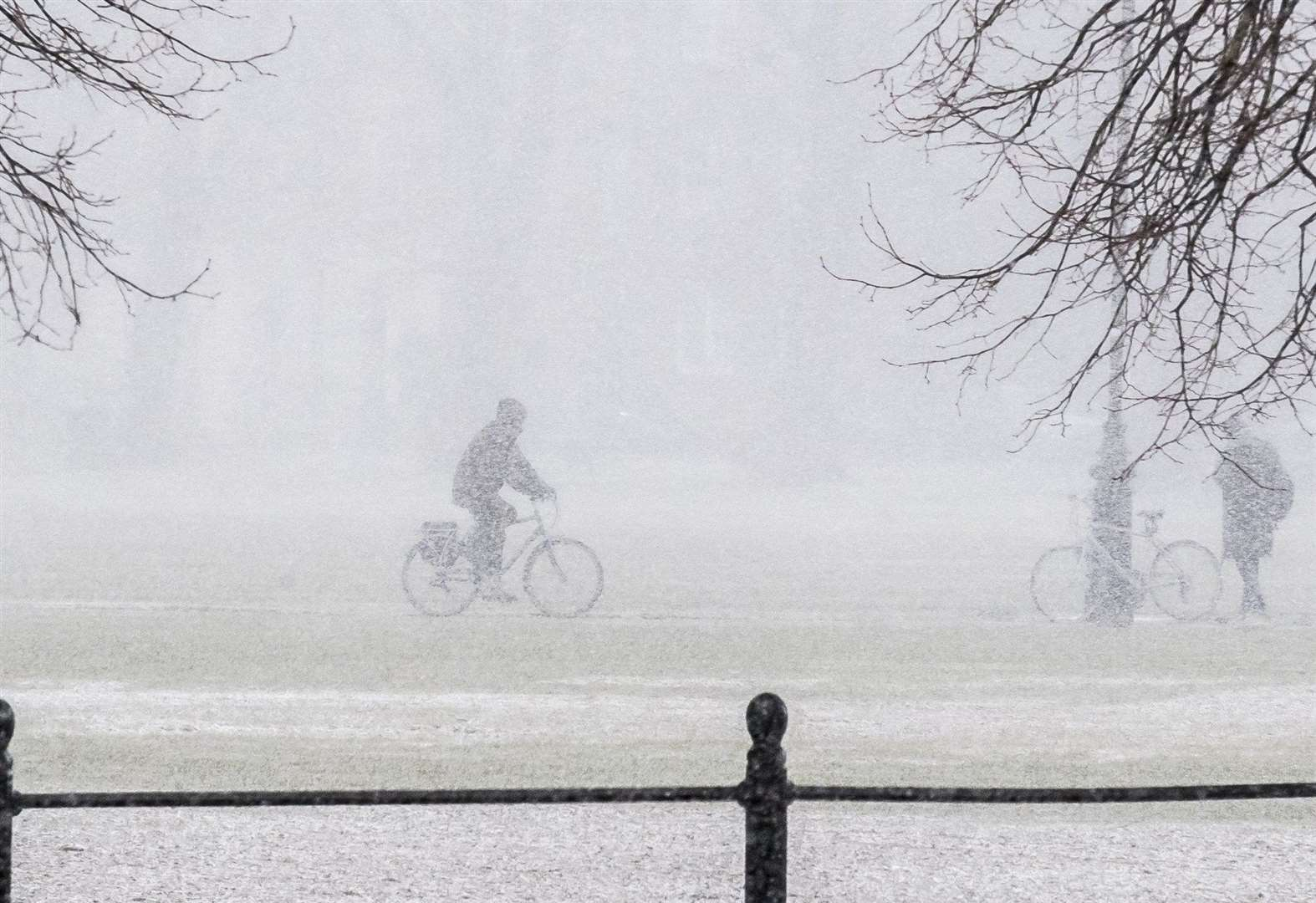 Snow forecast for Cambridgeshire