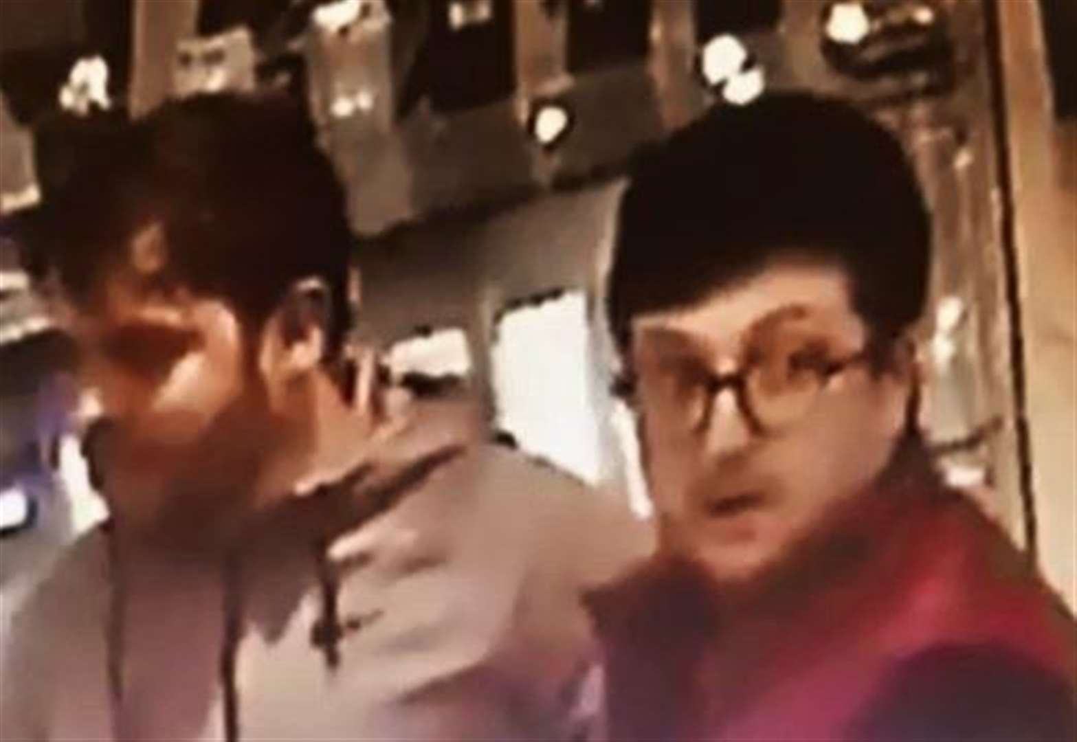 Police issue CCTV pictures of two men after thefts in Cambridge
