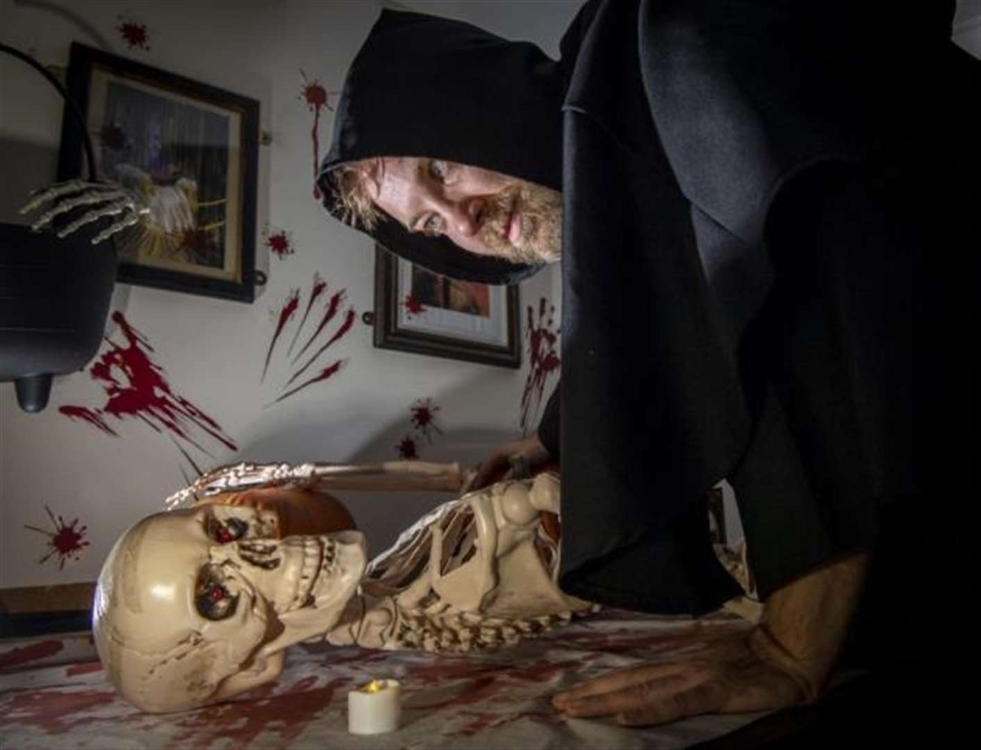 Cambridge escape room offers Hallowe'en fun