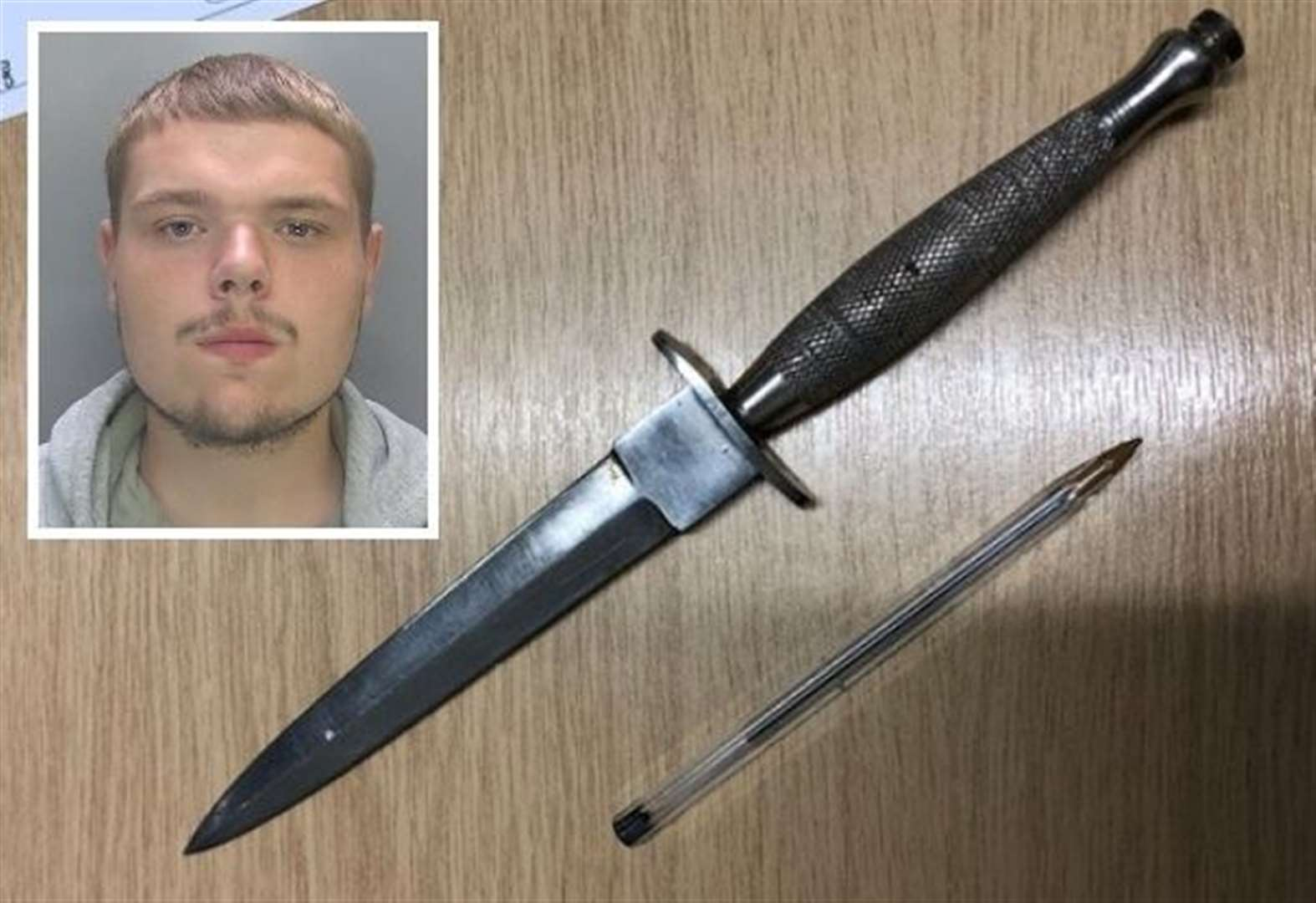 Cambridge man with dagger in trousers sentenced