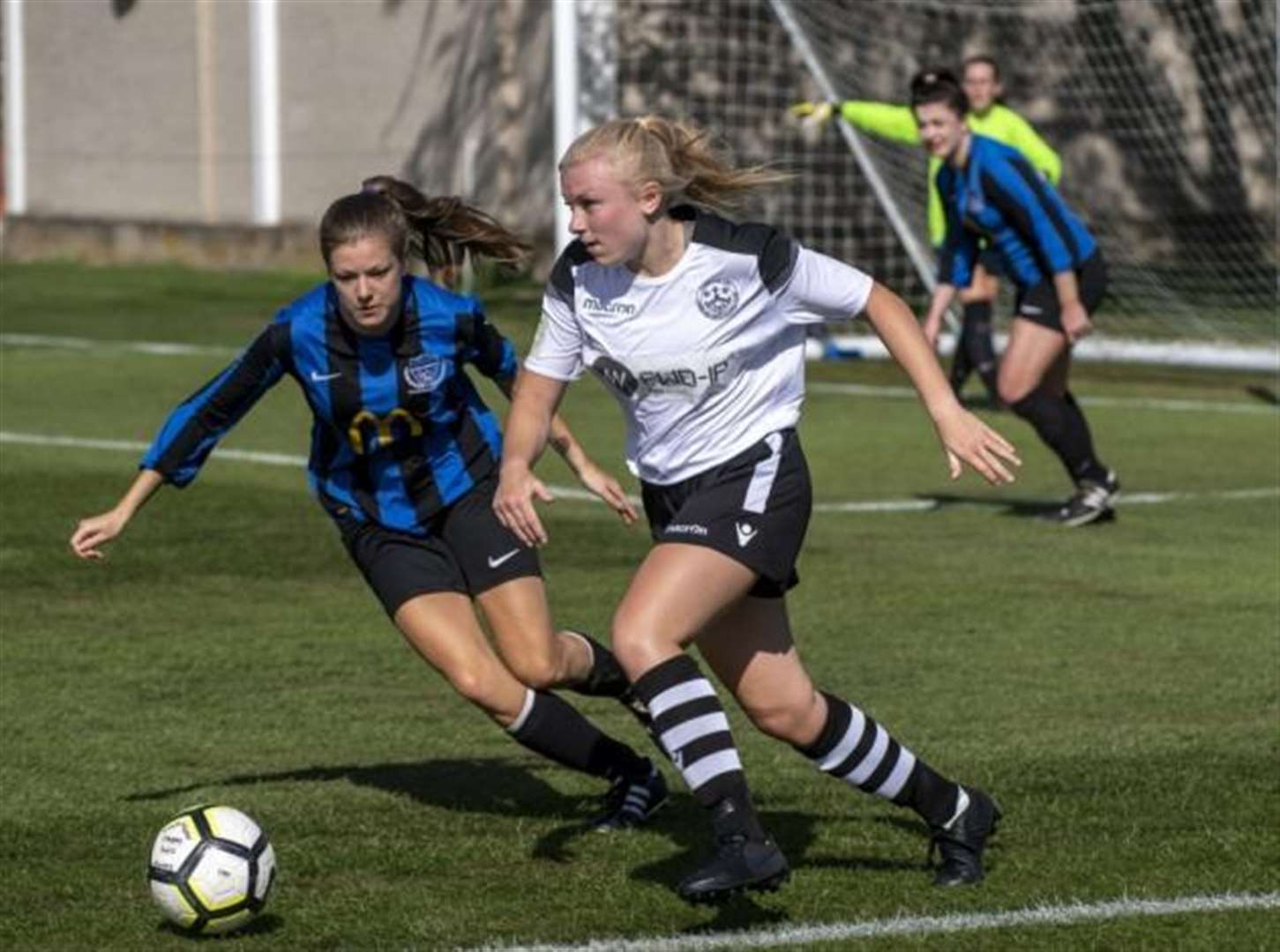 Flying winger Charlotte Gillies in top form for Cambridge City Ladies