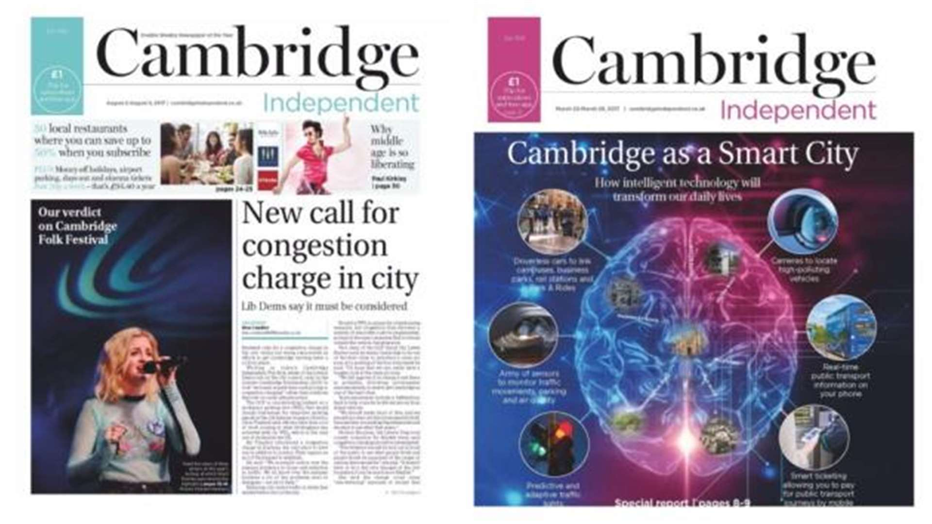 Black Friday offer: 50% off the Cambridge Independent - subscribe from just 50p a week