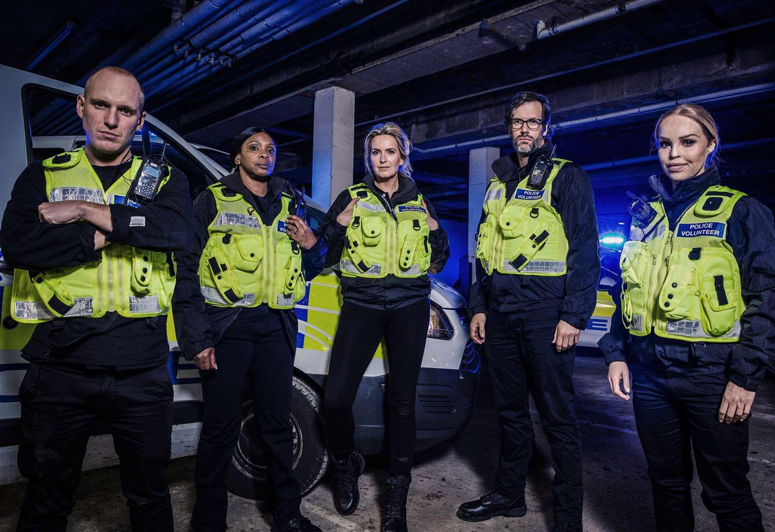 TV stars join Cambridgeshire police on the frontline for Channel Four show