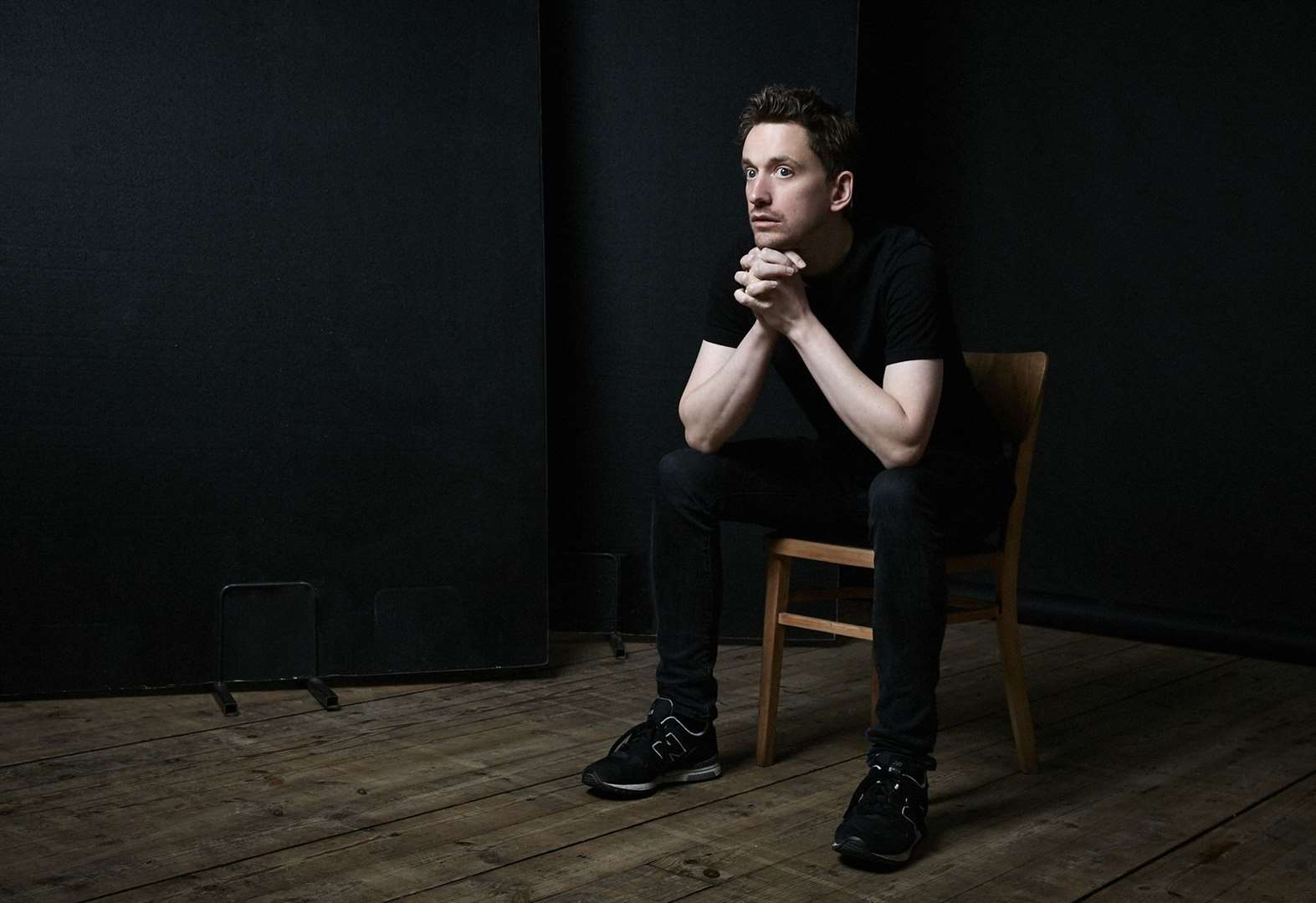 Comedian John Robins performing in Cambridge this week