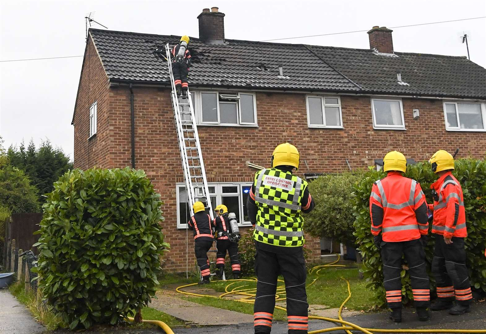 Man arrested after cannabis factory discovered at Milton house fire