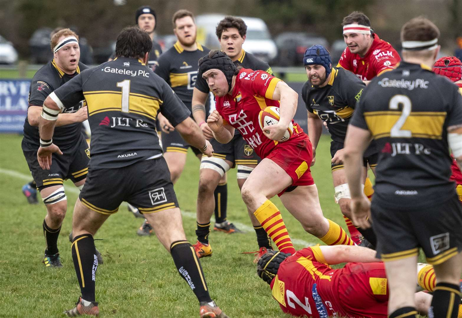 Henry Peck try seals Cambridge victory over Rotherham Titans in National League One