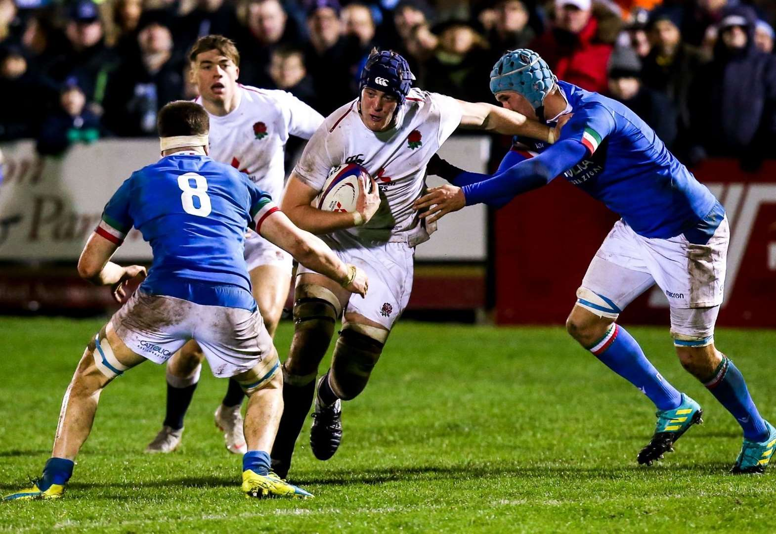 Former The Perse School student Alex Coles ready for 2019 World Rugby Under-20 Championship test with England