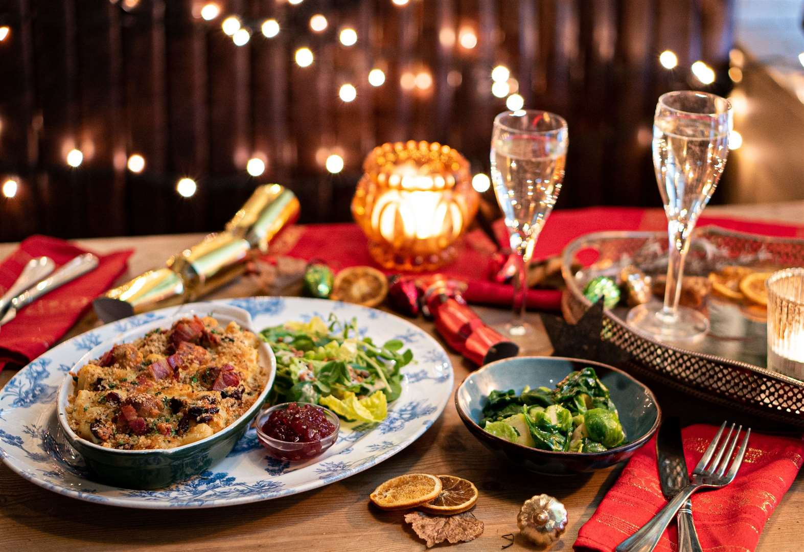 Bill's launches Christmas menu