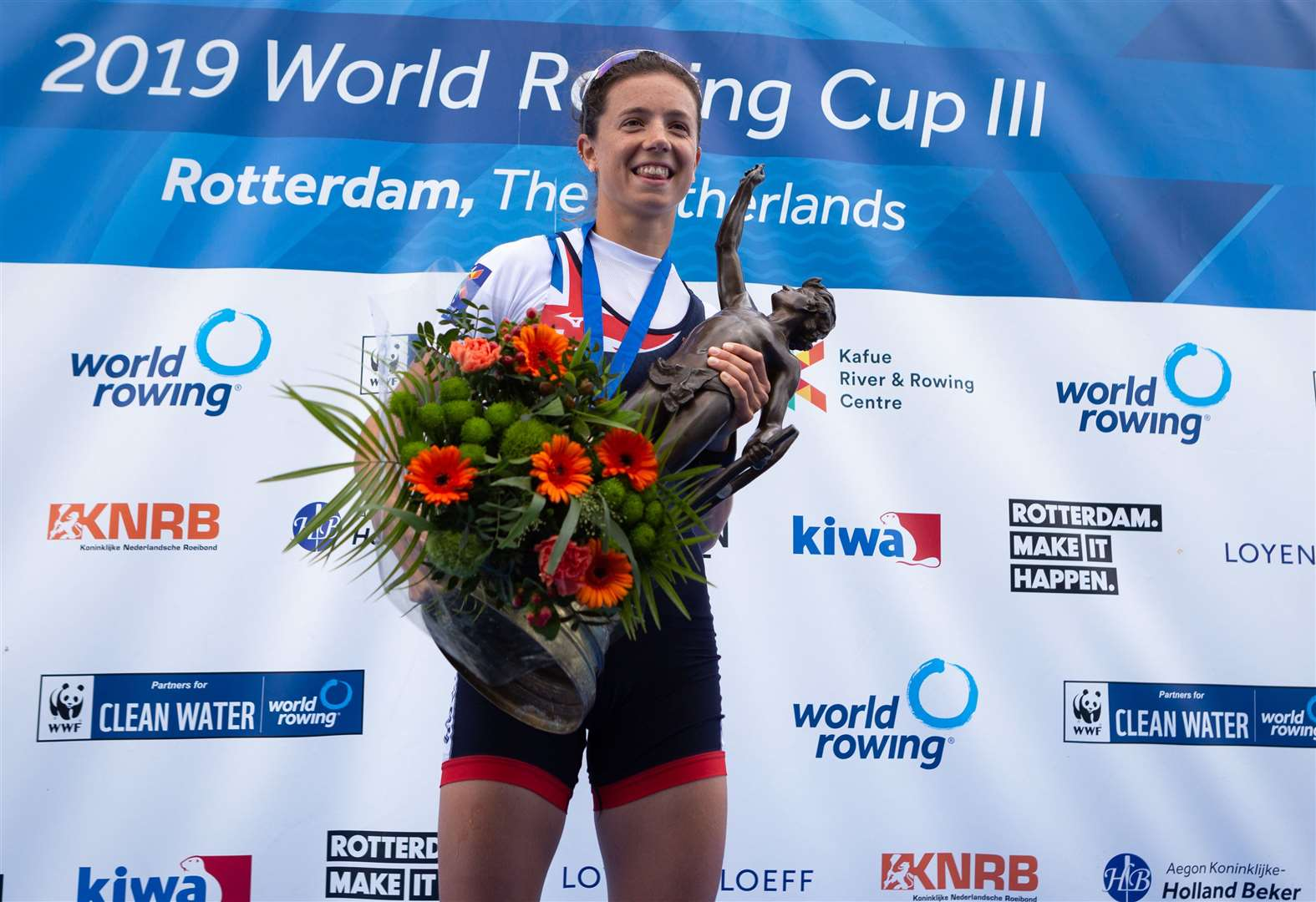 Cambridge University Women's Boat Club's Imogen Grant is chosen as World Rowing's rising star of the month