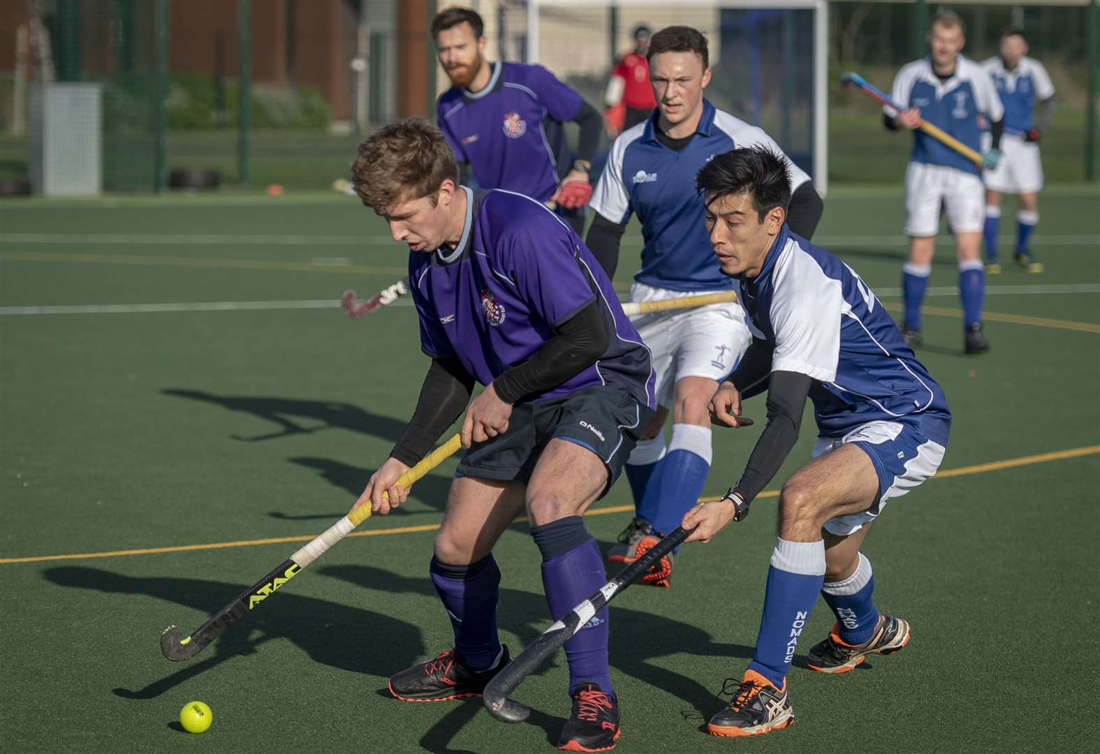 Cambridge South and Cambridge Nomads celebrate East Men's League promotions