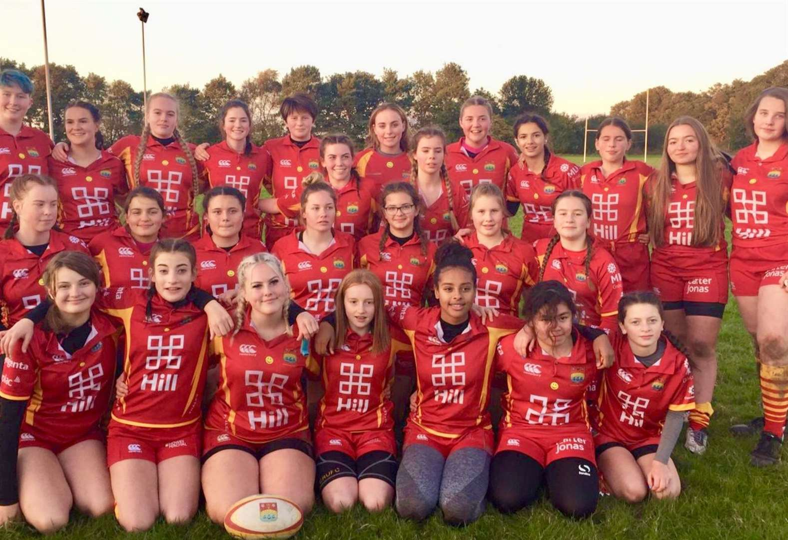 Cambridge Rubies deliver good performances at Eastern Counties Girls' Rugby Festival