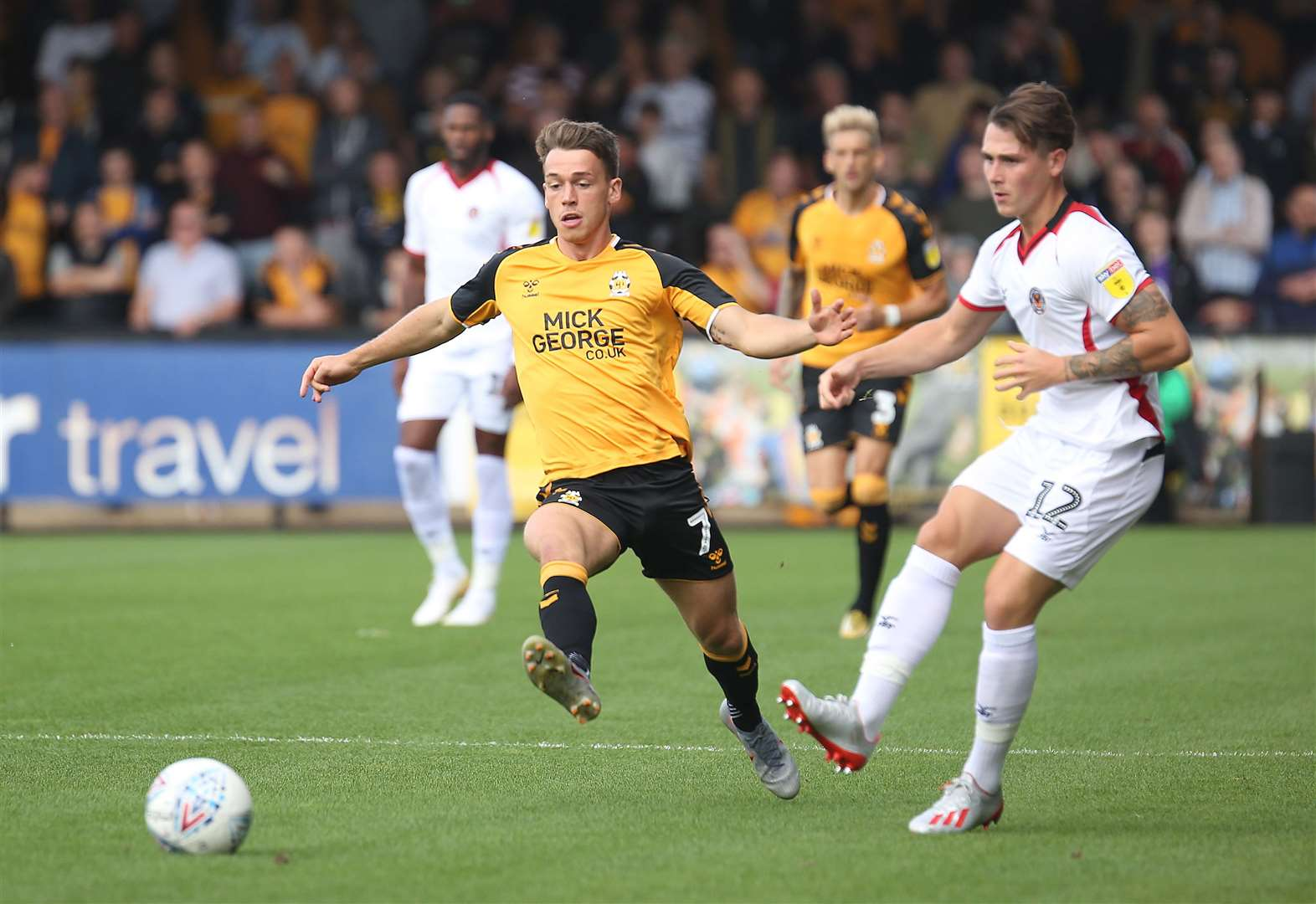 Cambridge United run the rule over injury list ahead of trip to Carlisle United in Sky Bet League Two
