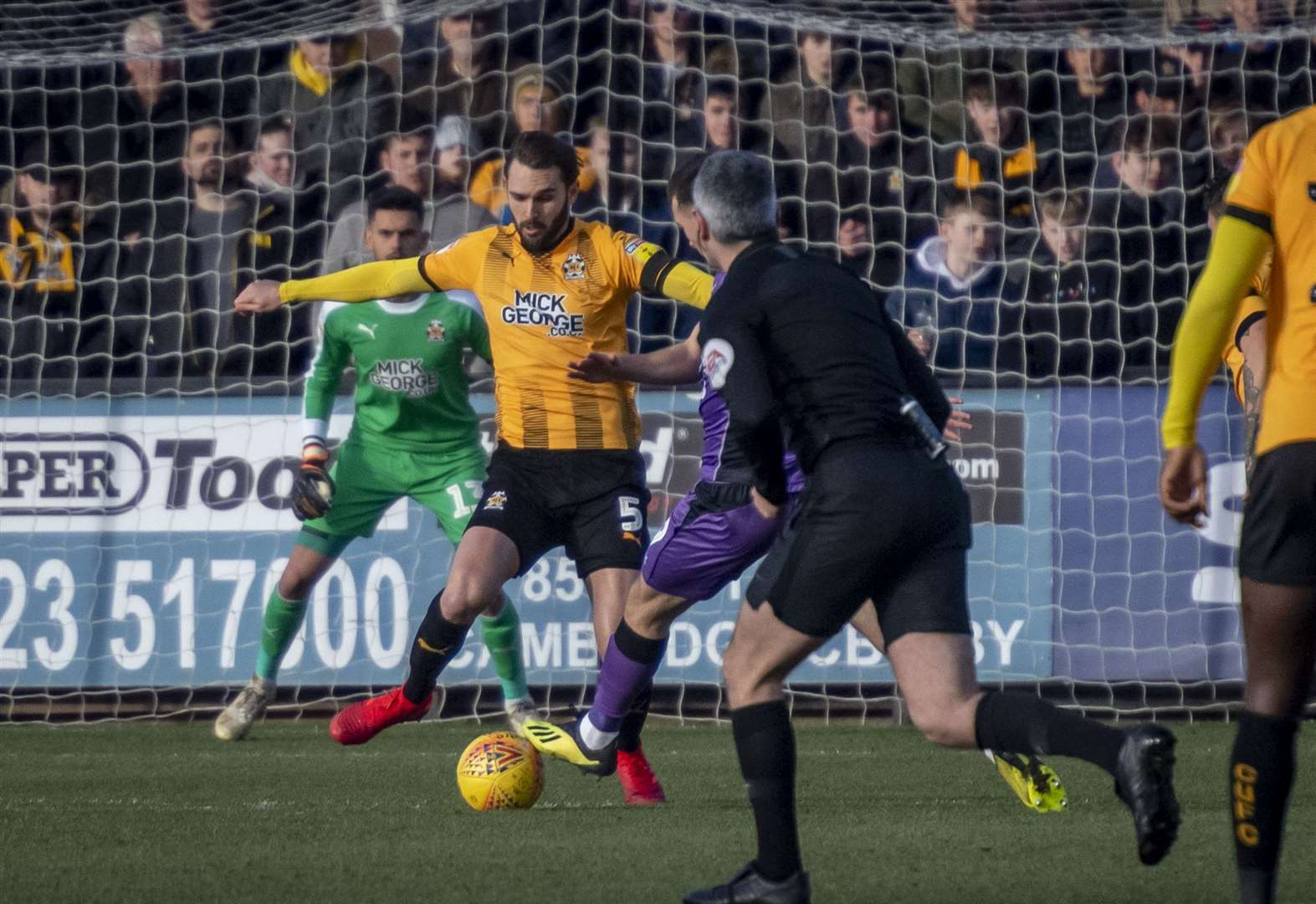 Illness bug causes selection poser for Cambridge United ahead of clash with Exeter City