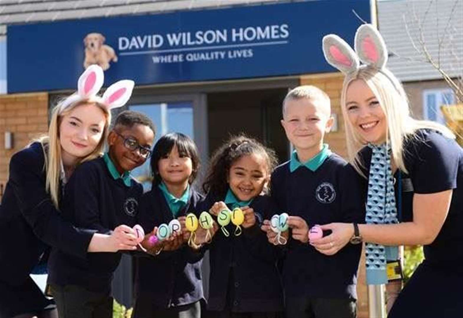 Children enjoy special Easter treat at Northstowe in Cambridge