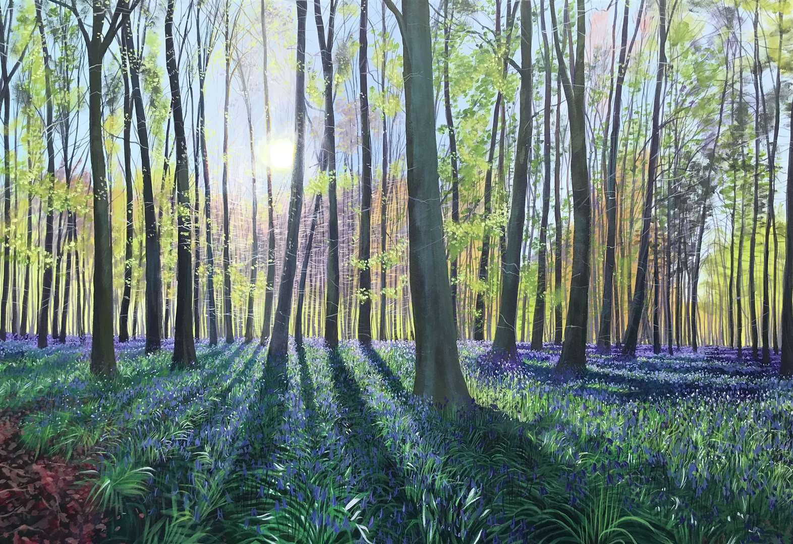 Wandlebury exhibition showcasing the artwork of Debbie Baxter on now