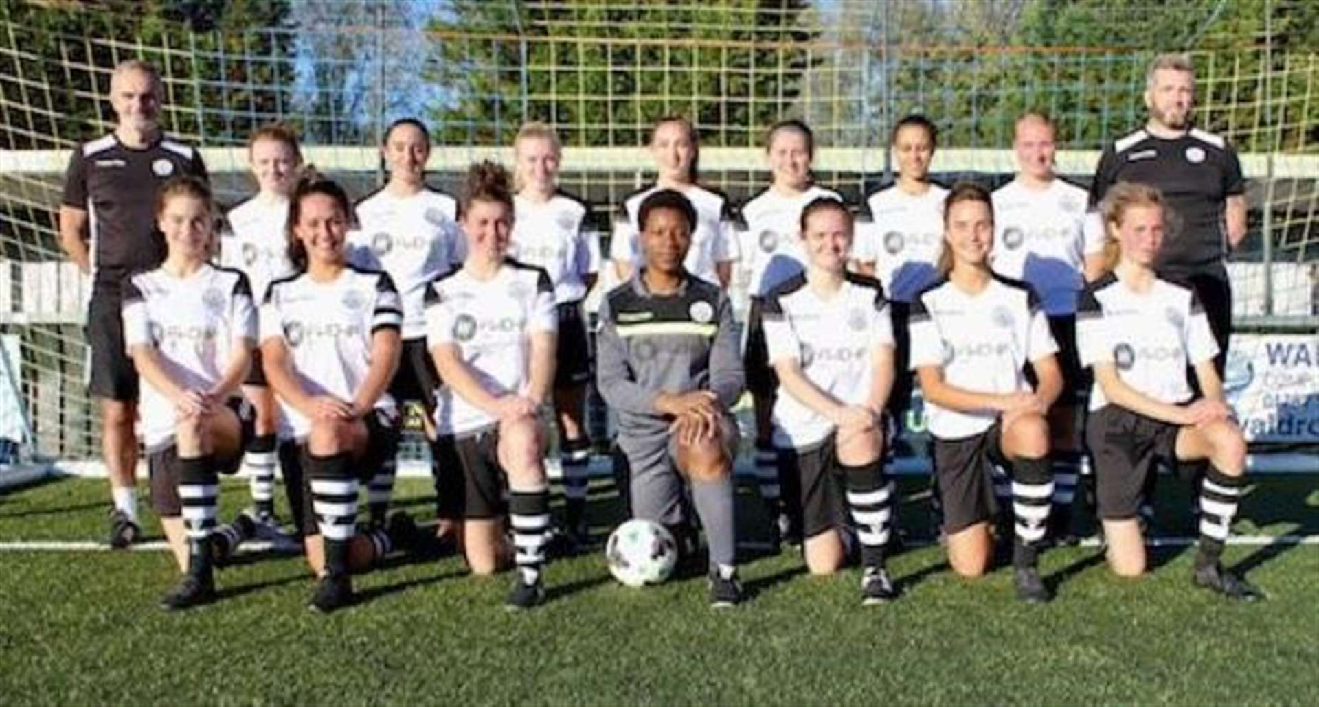 Laura Mills on fire for Cambridge City Ladies