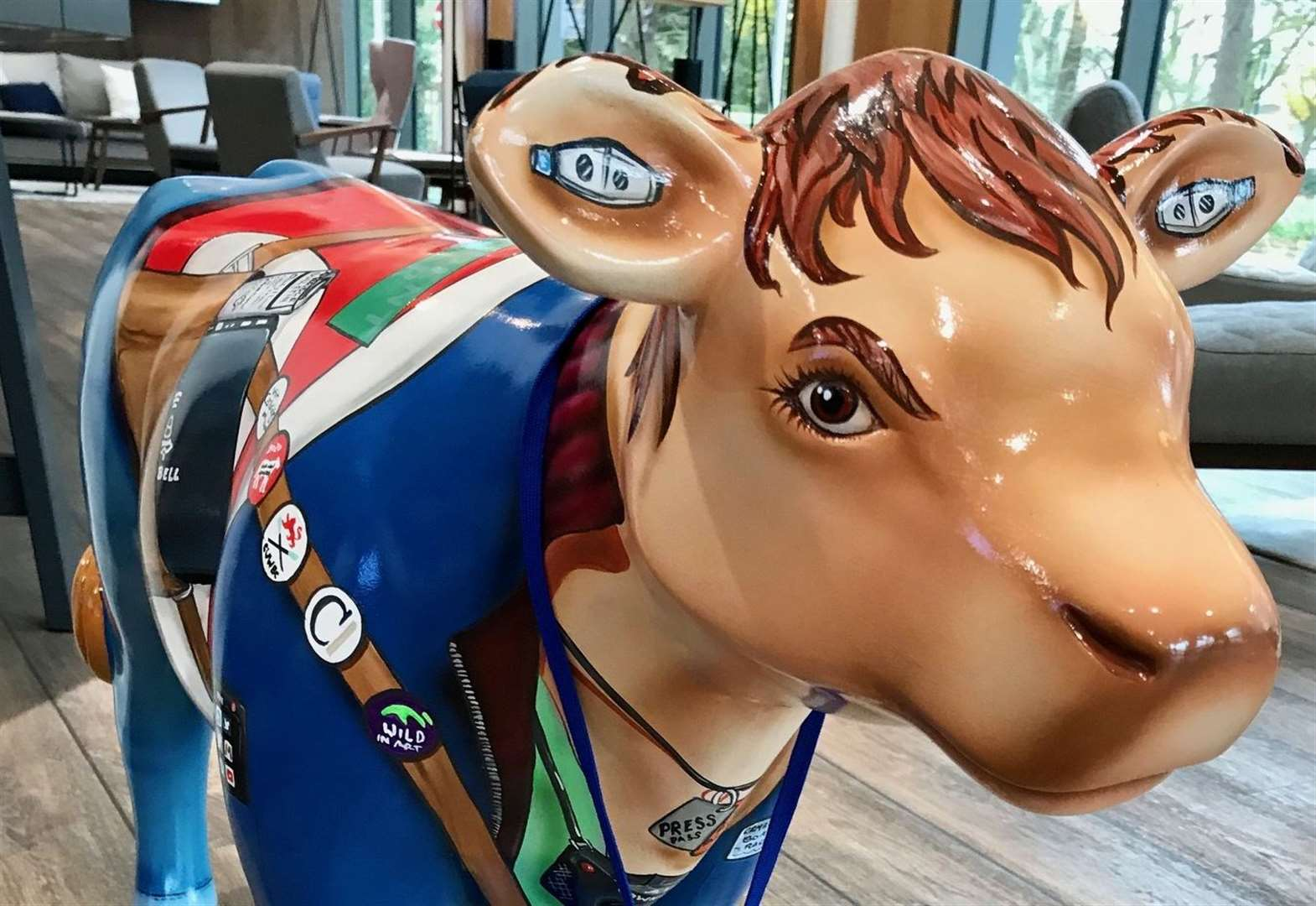 Cows about Cambridge: Our cow-respondent visits Bidwells for some moo-ving advice