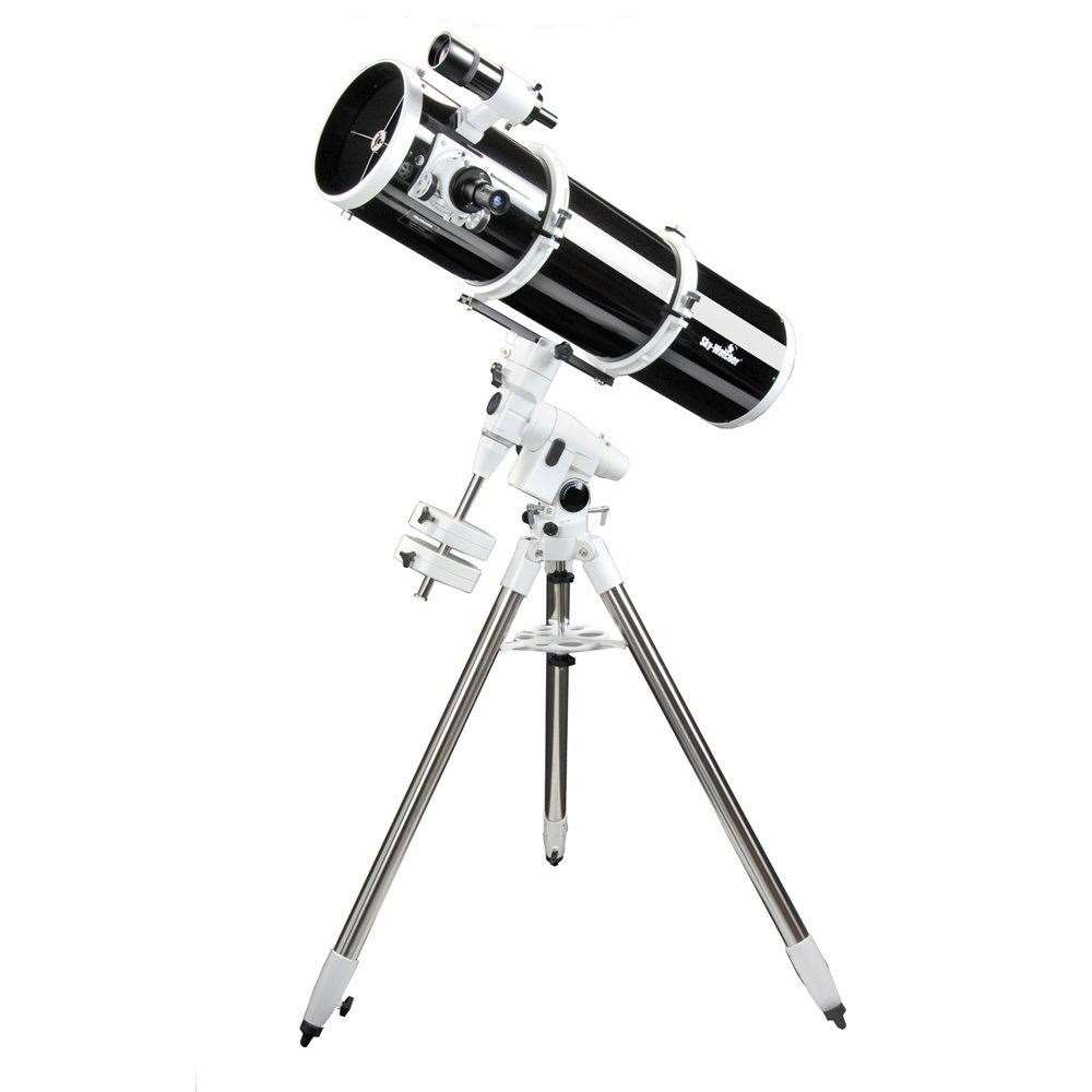 A Sky-Watcher reflector on an equatorial mount