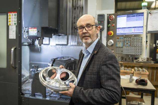 Director Nigel Rata at Cambridge Precision, which is sponsoring AI Company of the Year. Picture: Keith Heppell