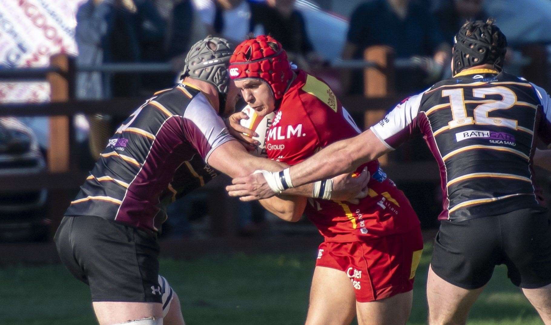 Jake McCloud's try earned Cambridge a losing bonus point against Birmingham Moseley.