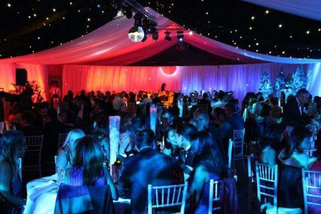 The Fire & Ice Ball at Quy Mill Hotel - part of the Cambridge Roar festival