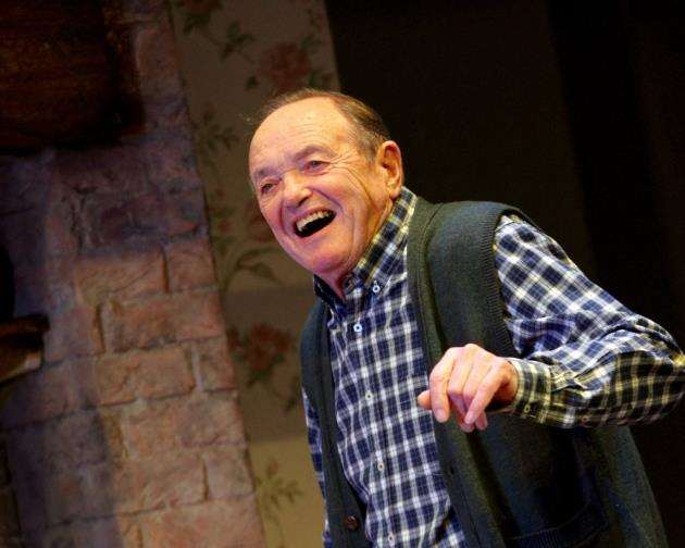 James Bolam as Jack in Fracked!, picture: Catherine Ashmore