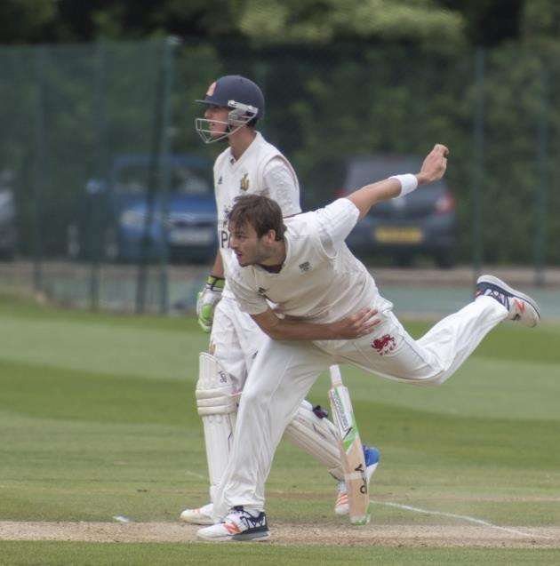 Tristan Blackledge had a good day for Cambridge Granta. Picture: Keith Heppell