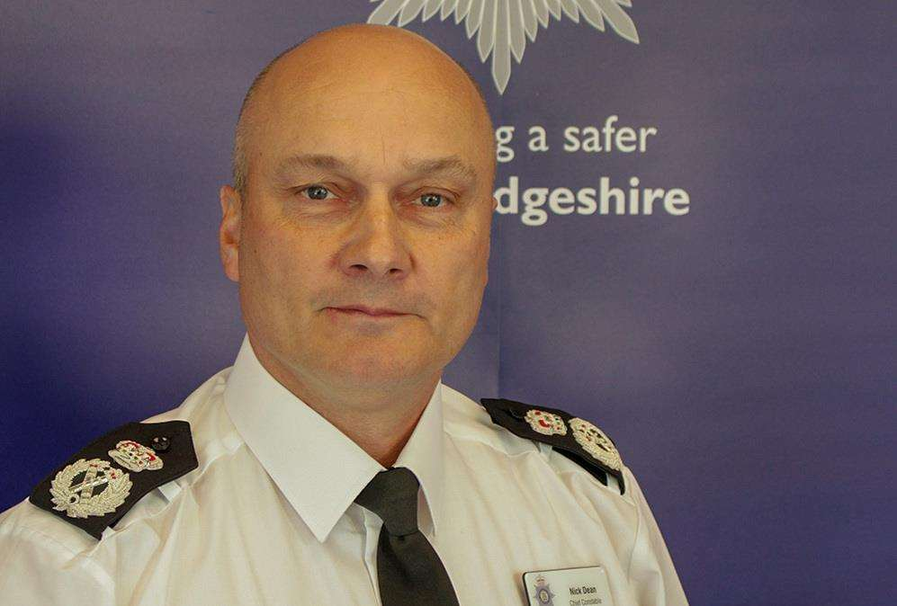 Chief Constable Nick Dean.