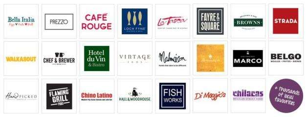 Save money at these restaurants and many more with your Gourmet Society membership