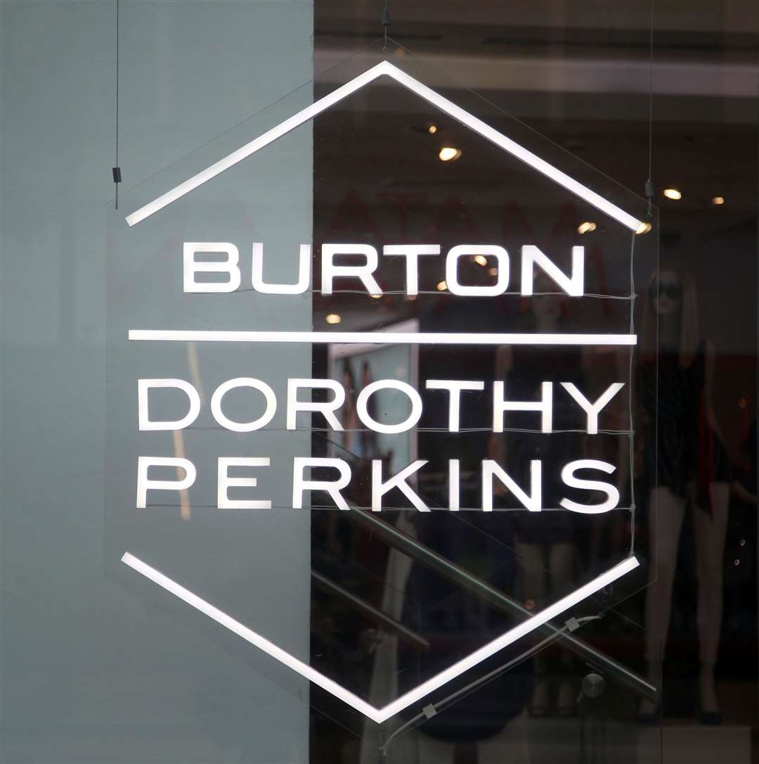 Arcadia owns Burton and Dorothy Perkins brands, among others