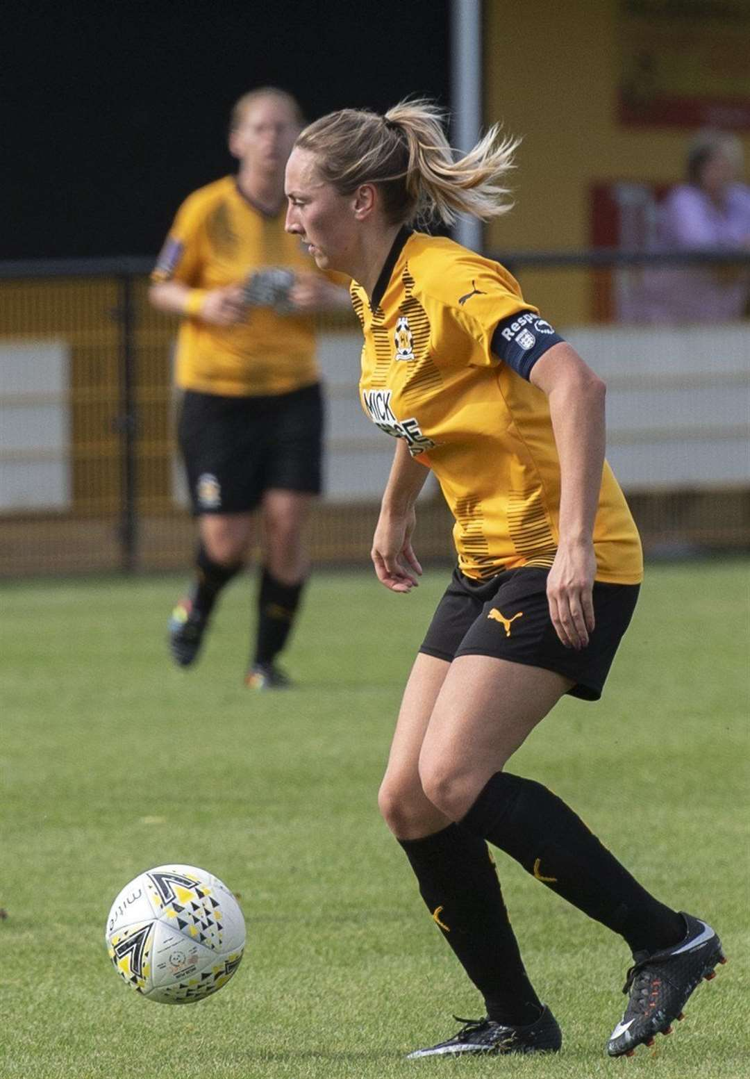Kelley Blanchflower was on target for the U's against Kent Football United. Picture: Keith Heppell