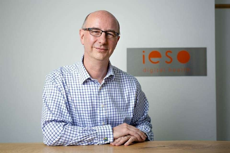Dr Nigel Pitchford, CEO of Ieso Digital Health (16072070)