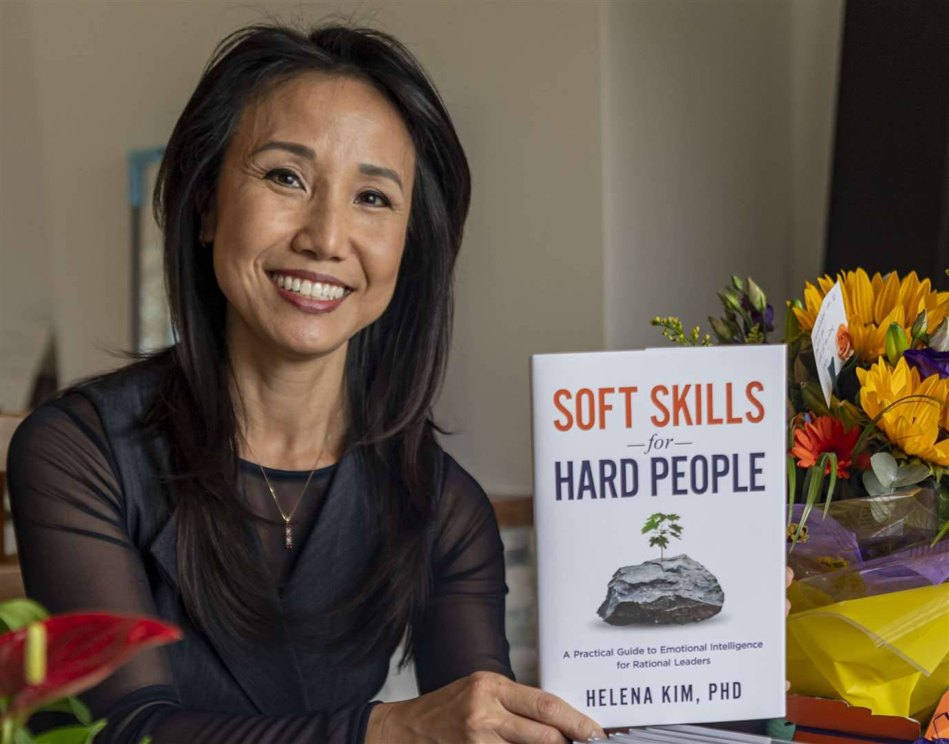 Dr Helena Kim, author of 'Soft Skills for Hard People'. Picture: Keith Heppell