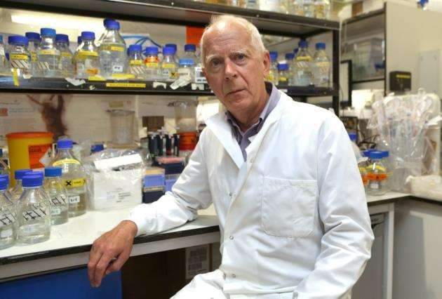 Prof Sir David Baulcombe at the Department of Plant Sciences at the University of Cambridge. Picture: Richard Marsham