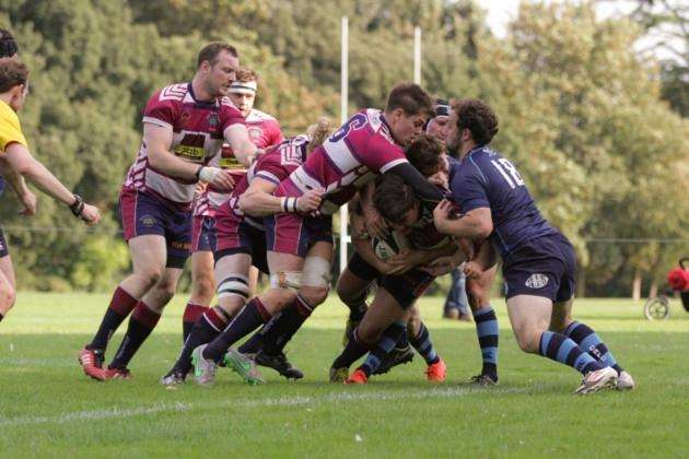 Warrick Anderson scores for Shelford against Chichester.
