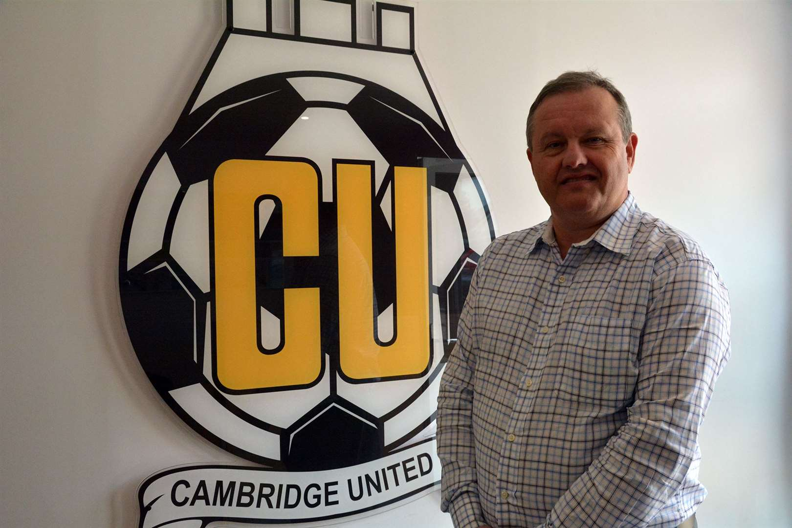 Cambridge United majority shareholder Paul Barry. Picture: Cambridge United