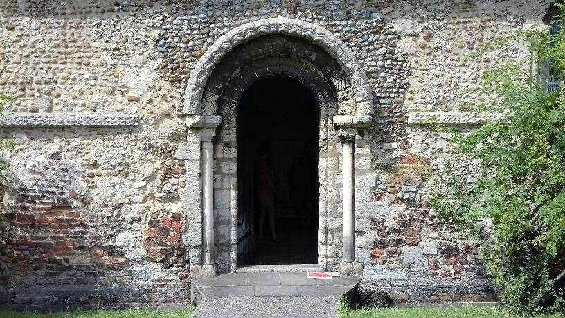 Portal to secrets - local historians are invited to contribute to the tunnel debate. Picture: Mike Scialom