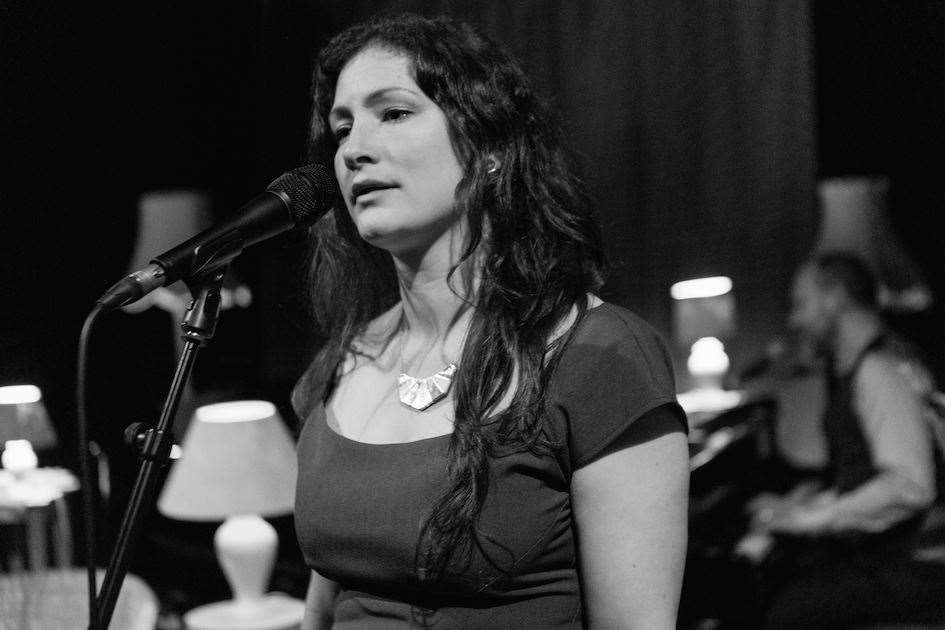 Rachel Unthank, with Adrian McNally on piano.Photo by Gavin Bush. (14227075)