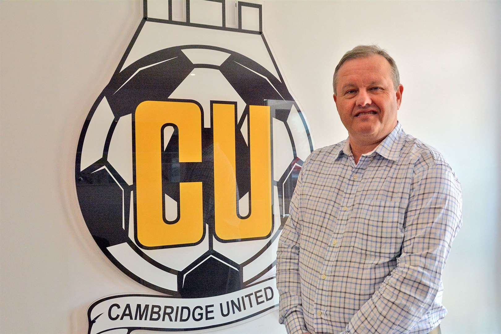 Cambridge United owner Paul Barry (10312327)