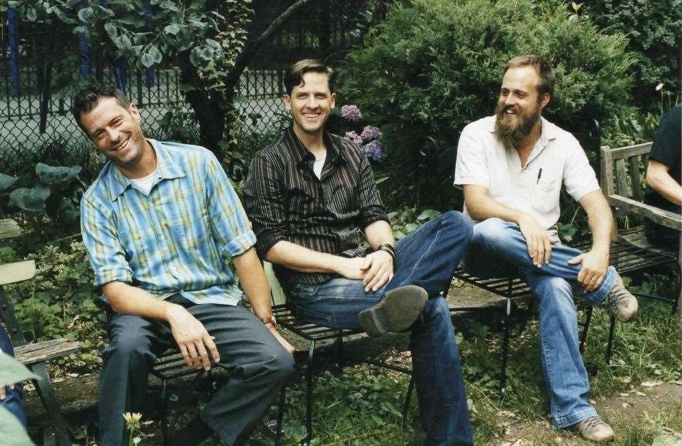Old picture of Calexico and Iron & Wine