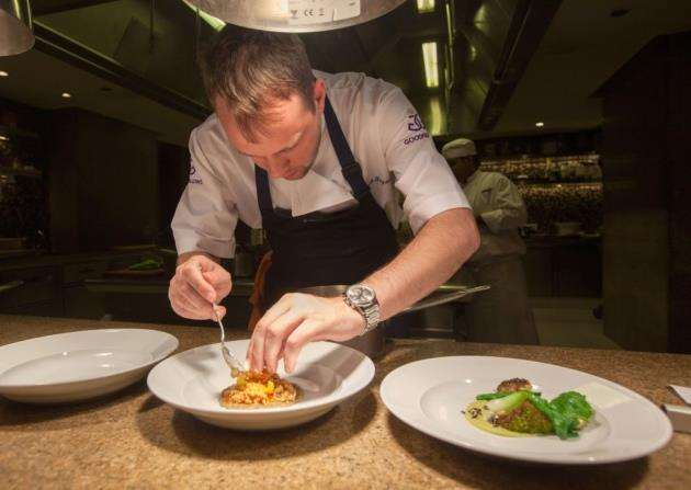 Chef Mark Poynton, formerly of Alimentum, photo by Kois Miah, sourced by Mark Poynton