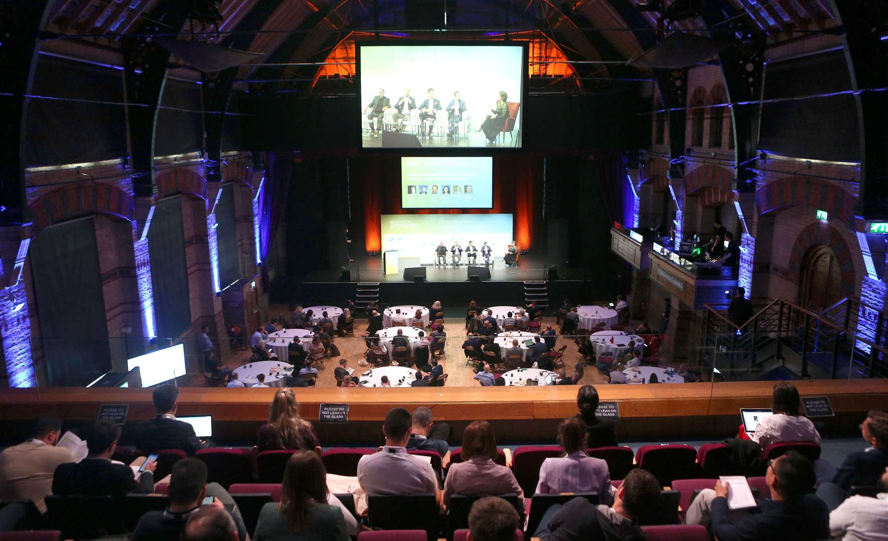 The Health Horizons Future Healthcare Forum at the Corn Exchange. Picture: Richard Marsham